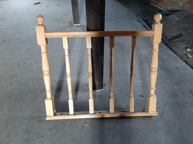 Sprzedam barierki drewniane. Poręcz.