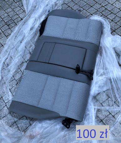 MB W204 oparcie kanapa tył + zamki, półka tył, bagaznik podłoga.