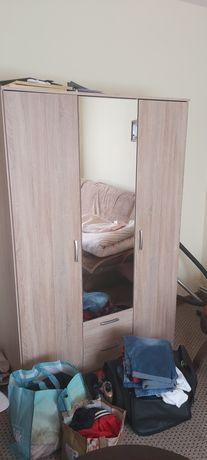 Meble łóżko szafa