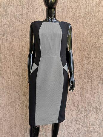 класична сукня платье футляр офисный сарафан F&F uk 12