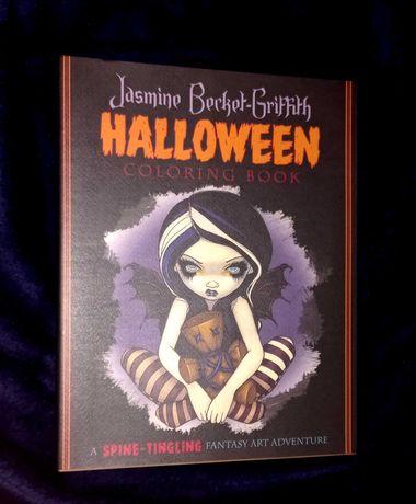 "livro para colorir ""Halloween"" novo portes incluídos"