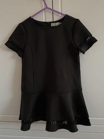 Zara sukienka 110 czarna