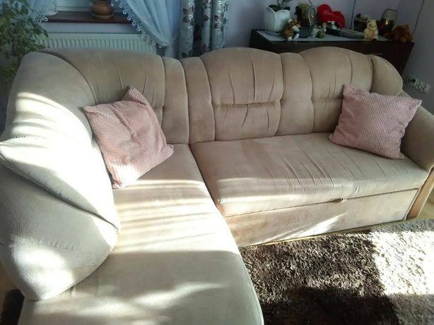 Komplet wypoczynkowy- Narożnik + 2 fotele typu angielskiego
