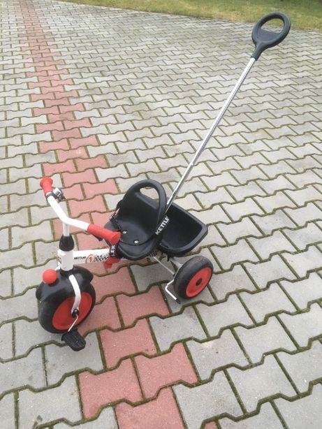 Rower dziecięcy trójkołowy Kettler - możliwa regulacja długości