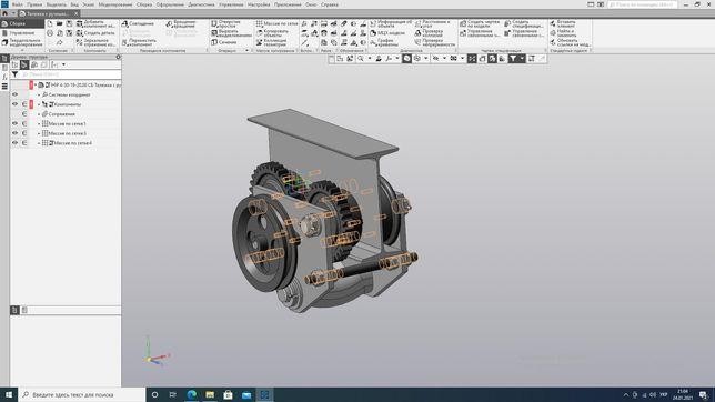 3D модели на заказ и Индивидуальные занятия по САПР SOLIDWORKS