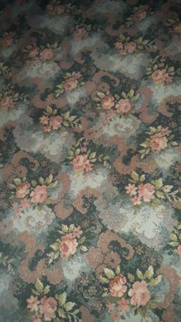 Duży wełniany dywan Kowary 2,5*3,5 kwiaty