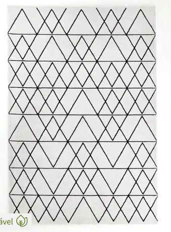 Tapete branco e preto La Redoute 290x200cm