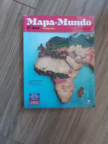 Conjunto:Mapa Mundo caderno de atividades e manual