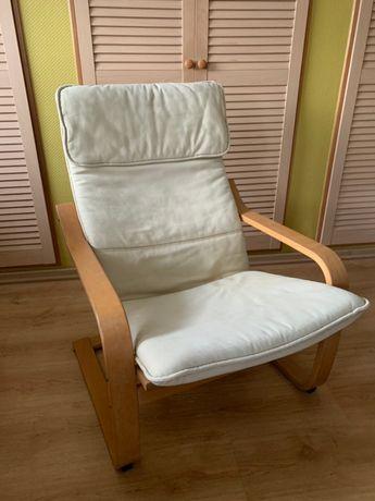 IKEA Fotel - bujany - kołyska kpl. z poduszką