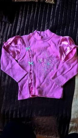 Bluzka sweterek roz.110