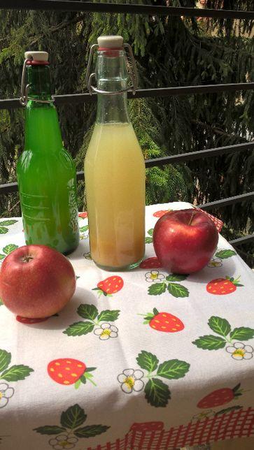 """Ocet jabłkowy domowy ekologiczny """"żywy"""" Pyszny"""