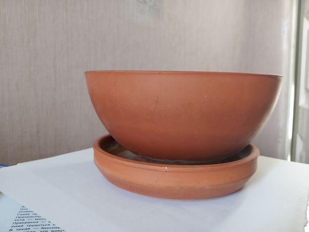 Продам керамические горшки для сенполии