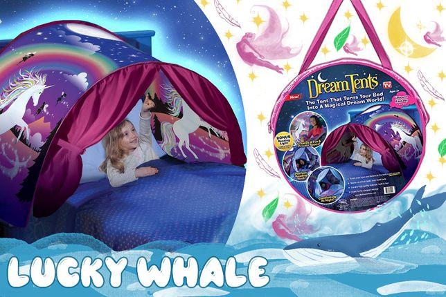 Детская палатка мечты для сна тент Dream Tents единорог магия сказка