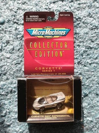 Micro Machines Collector Corvette Indy Experimental