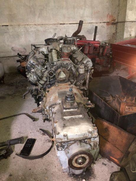 Двигатель на УРАЛ (полный кап ремонт и КПП)