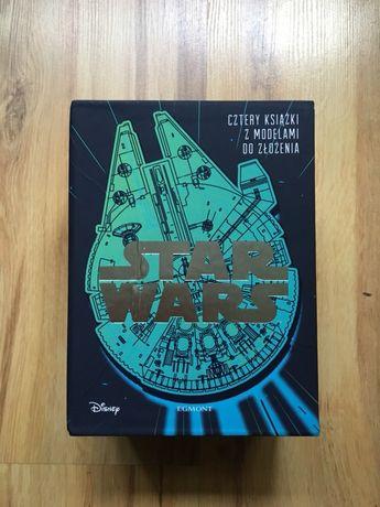Star Wars: Pakiet 4 książek z modelami