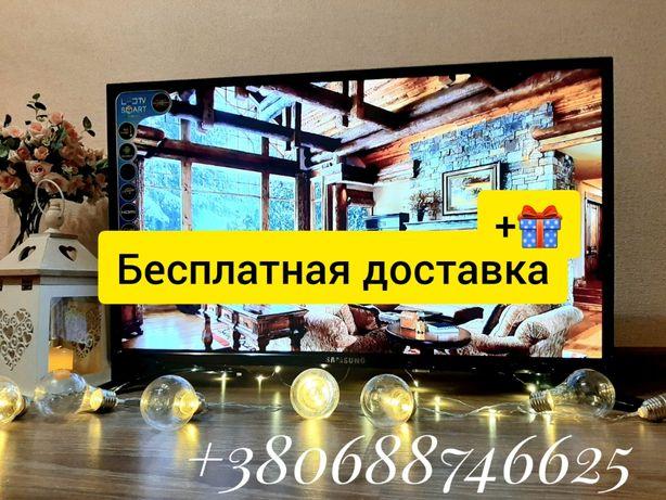 Телевизор Самсунг 32 42 дюйма SMART Т2 4к Full HD Смарт Samsung опт