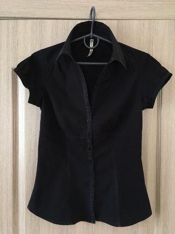 Рубашка S Terranova черная