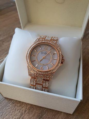 Zegarek Jessica Simpson różowe złoto gratis bransoletka