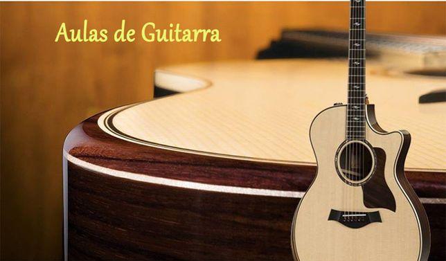 Aulas de GUITARRA/VIOLA em Guimaraes