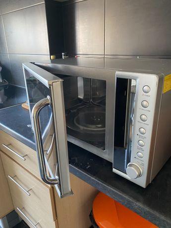 Microondas forno com grelhador