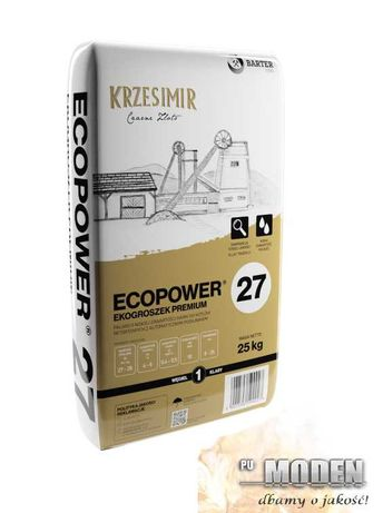 Ekogroszek KRZESIMIR wartość opałowa min 27 MJ/kg Transport HDS