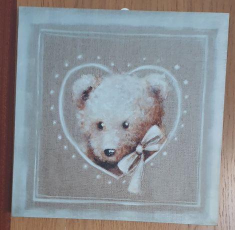 Quadro decorativo urso *NOVO*
