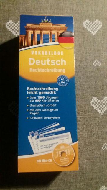 Zestaw kart w języku niemieckim