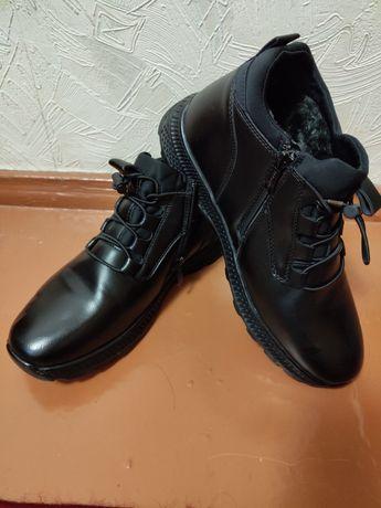 Продам зимнюю обувь для подростка
