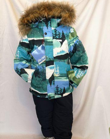 Новый зимний раздельный костюм, голубо - бирюзовый