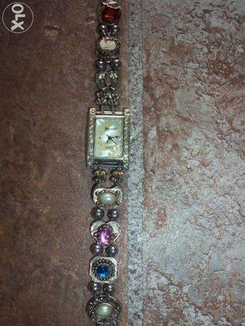 Часы Камея под серебро
