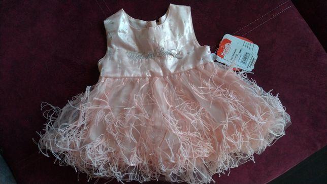 Платье 68 см