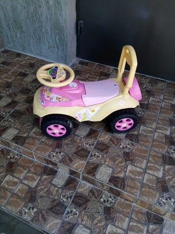 Толокар, детская машинка для девочки
