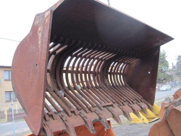 Używana łyżka przesiewająca do ładowarki o szerokości 2250 mm