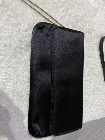 czarna torebka/kosmetyczna mala