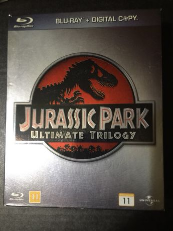 Jurassic Park ultimate collection - blu-ray box set