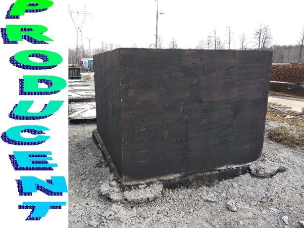 SZAMBO betonowe 8m3 SZAMBA zbiornik na deszczówkę, kanał samochodowy