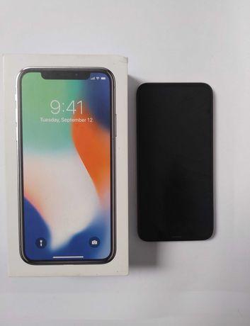 Iphone X 256gb, 100% sprawny, bateria 100%, stan bardzo dobry, Poznań