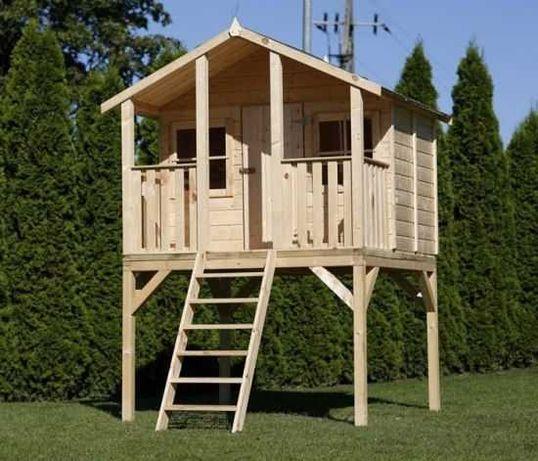 Domek dla dzieci ''BAMBI'' drewniany