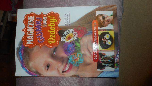 Okazja tanio nowa książka magiczne gumki ozdoby kolekcja