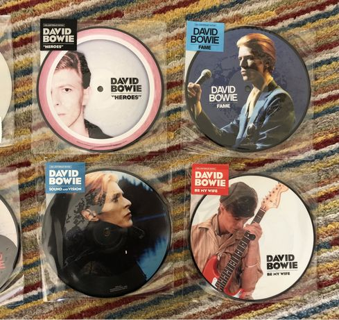 Bowie , Morrissey , Holy Holy picture discs