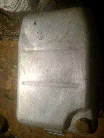 Алюминиевая канистра 30л и алюминиевый тазик