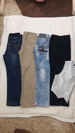 Штани джинсові хлопчачі 110см