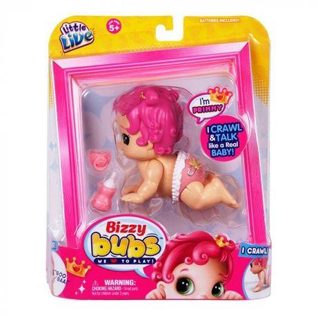 Интерактивная кукла Little Live Bizzy Bubs Primmy ползает оригинал