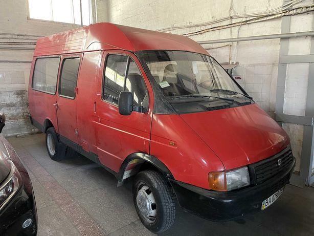 Микроавтобус ГАЗ 33021-ЗНГ 1995 года выпуска