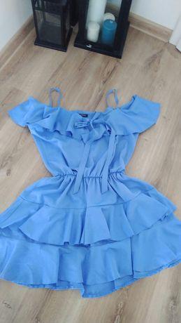 Cudna sukienka hiszpanka, rozmiar uniwersalny NOWA, R. S, M, L,