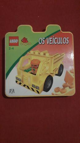 Livro Lego veículos