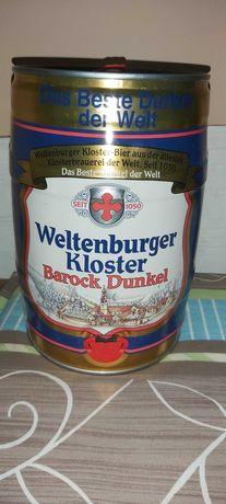 kolekcjonerska puszka po piwie Weltenburger Kloster