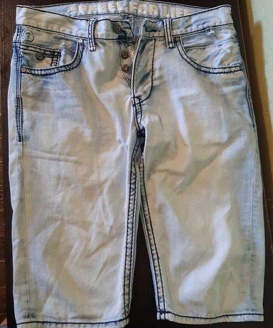 Шорты джинсовые на мальчика  подростка р. 170 REBEL
