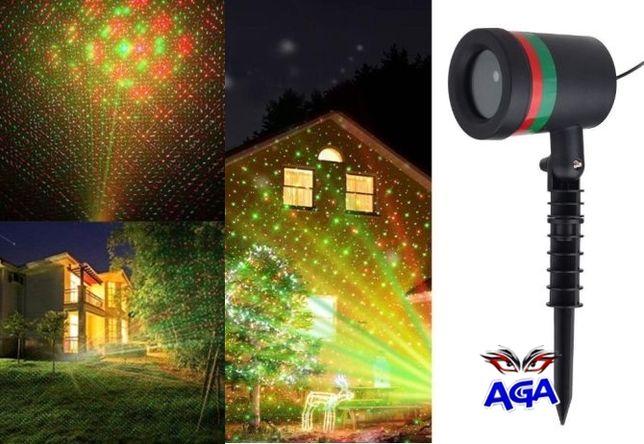Laser Zewnętrzny Projektor Świąteczny Laser Wodoodporny